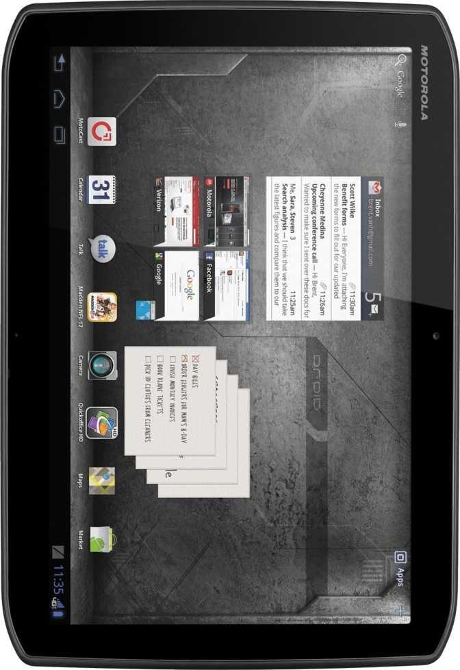 Apple iPhone 7 Plus vs Motorola DROID XYBOARD 8.2 MZ609 16GB