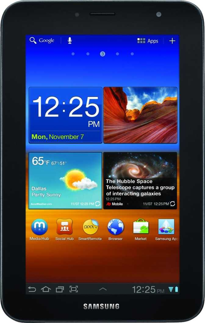Huawei Y7 vs Samsung Galaxy Tab 7.0 Plus P6200 32GB