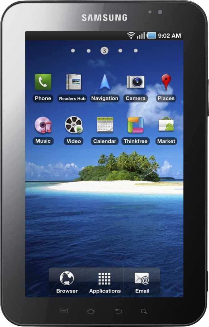 Samsung Galaxy S10 vs Samsung Galaxy Tab P1010 Wi-Fi