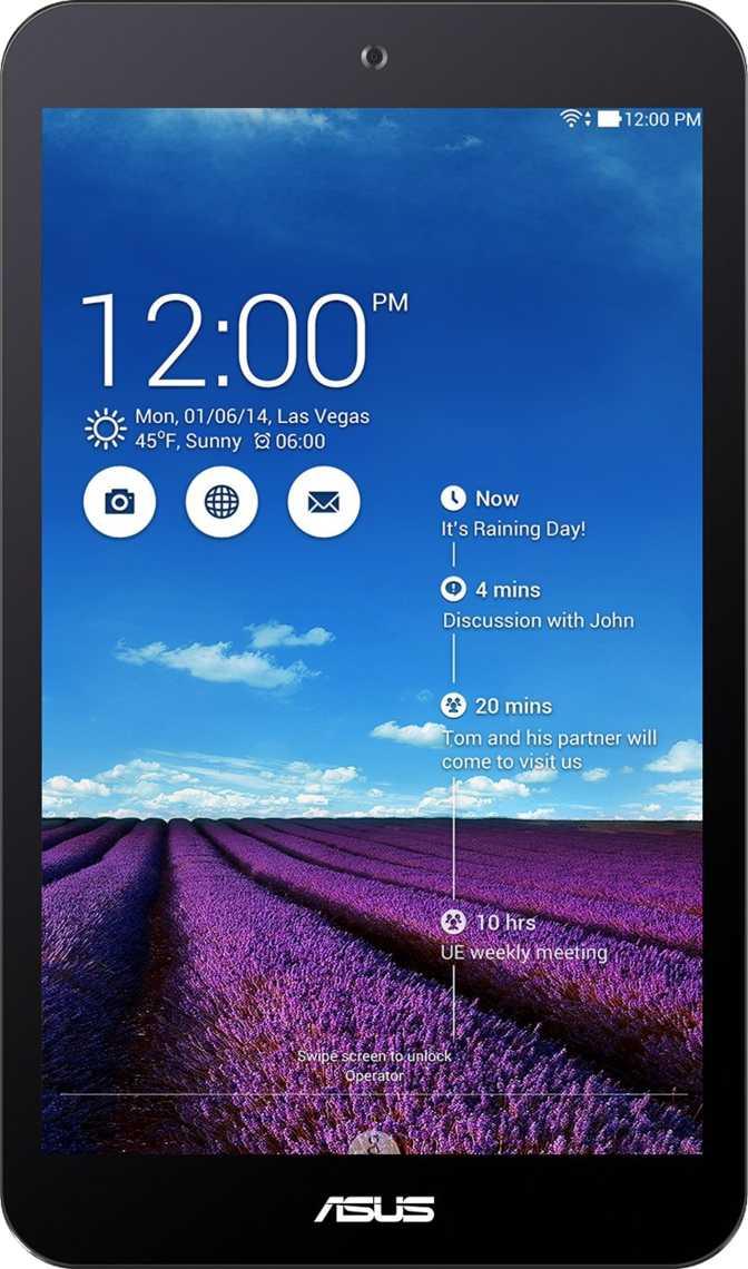 Samsung Galaxy Tab A 7.0 T280 vs Asus Memo Pad 8