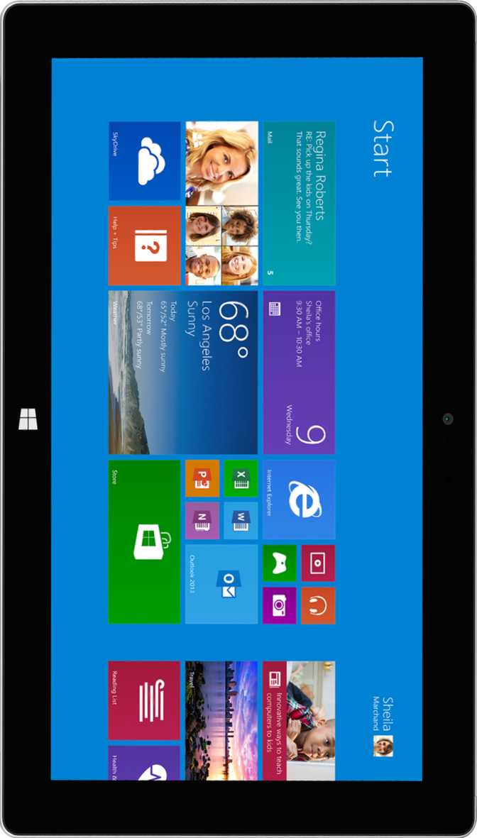 LG Optimus Pad LTE vs Microsoft Surface 2