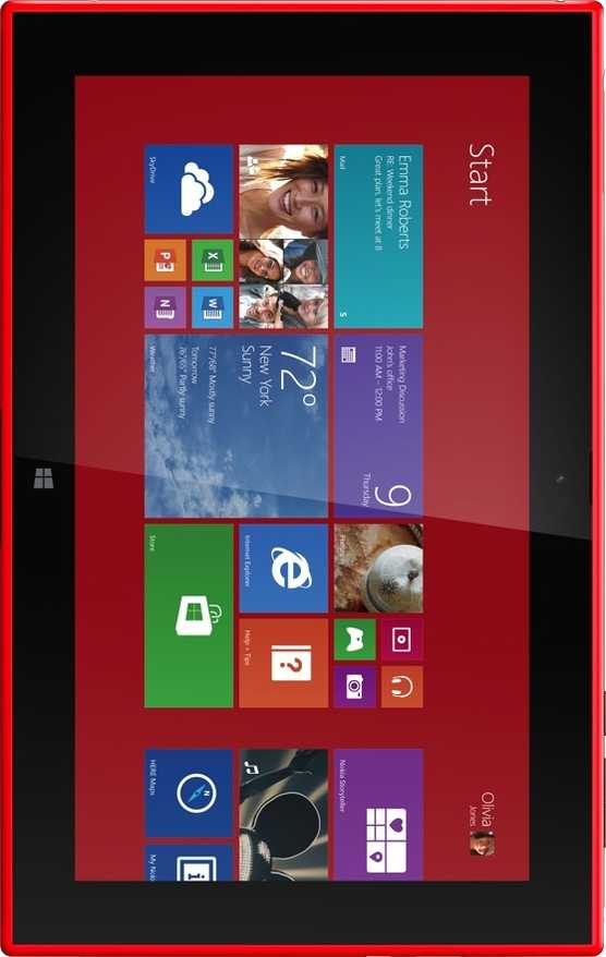 Lenovo IdeaTab A2107 vs Nokia Lumia 2520