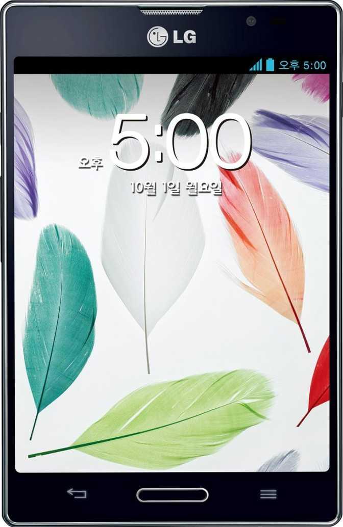Huawei Mate 8 vs LG Optimus Vu II
