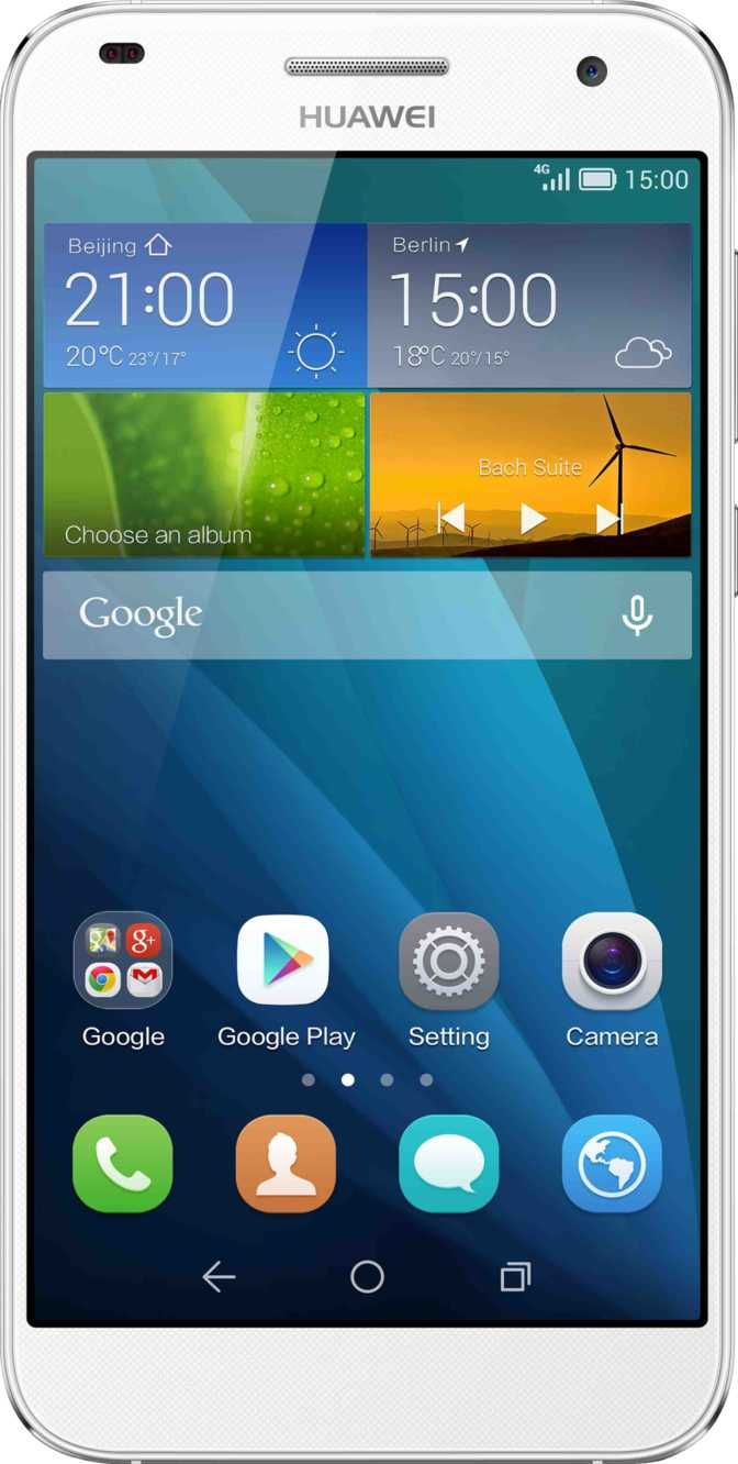 Huawei Ascend G7 vs HTC One V