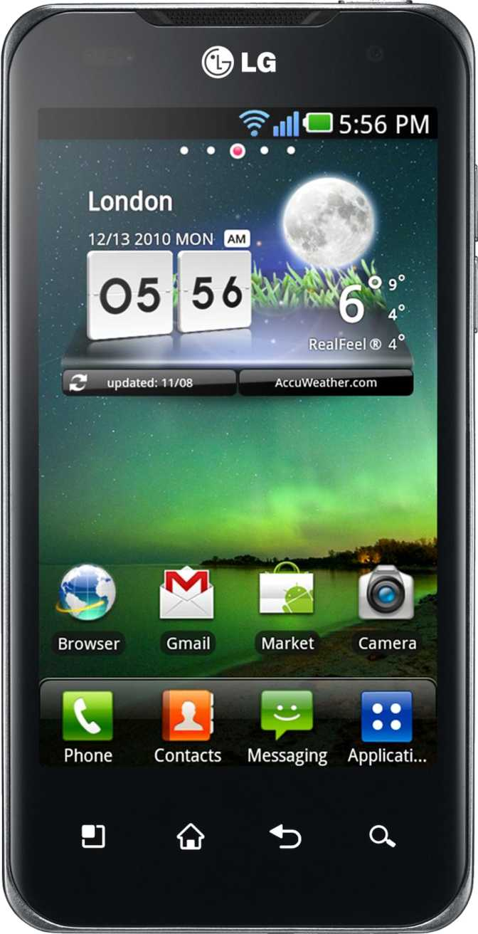 LG Optimus Speed P990