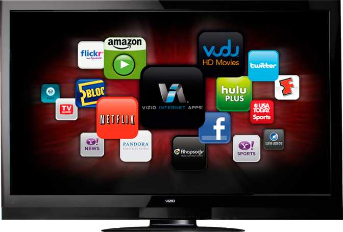 "Vizio 55"" Class Razor LED™ Smart TV"