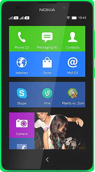 Nokia Lumia 735 vs Nokia XL