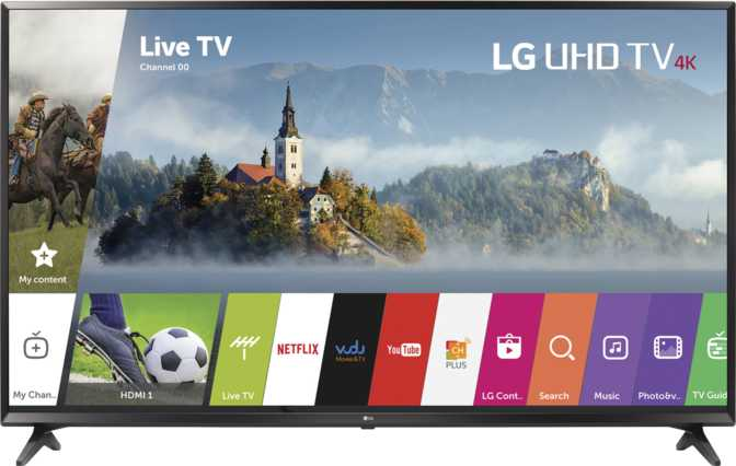 """Xiaomi Mi TV 2 49"""" vs LG UJ6300 49"""""""