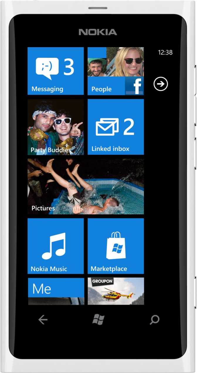 Samsung Galaxy Ace Plus S7500 vs Nokia Lumia 800