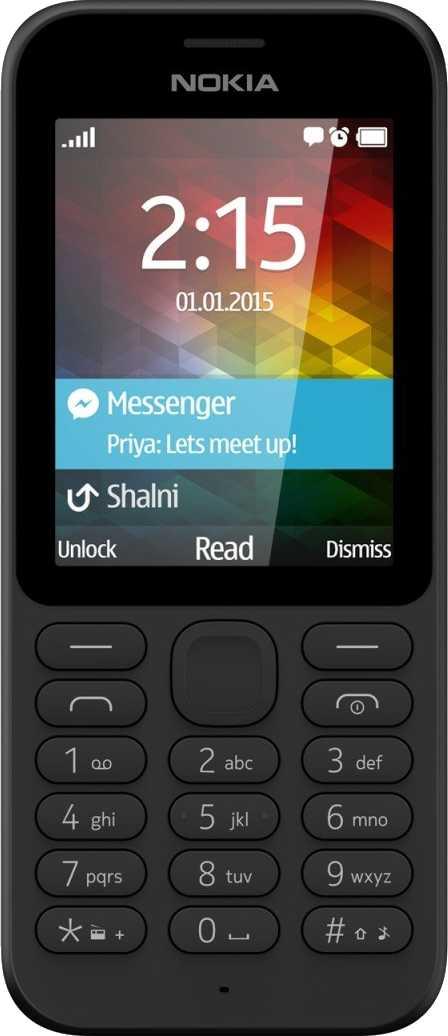 Nokia 216 vs Microsoft Nokia 215