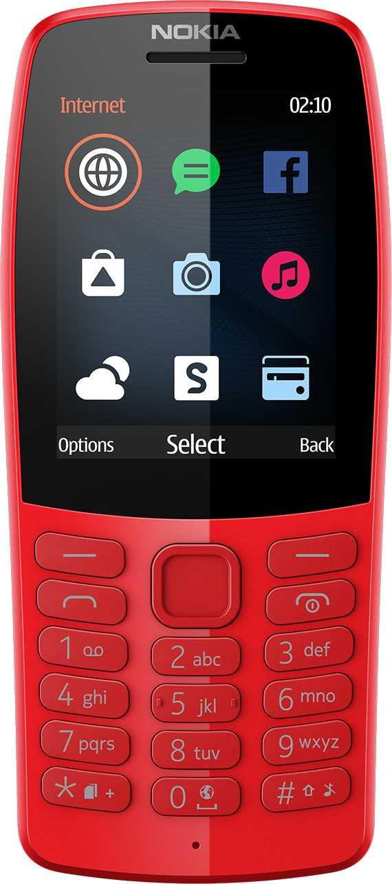 Nokia 220 vs Nokia 210