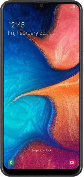 Samsung Galaxy A60 vs Samsung Galaxy A20