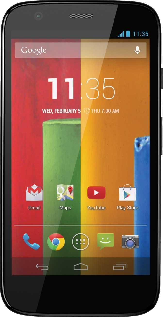 Motorola Moto G vs HTC One Mini