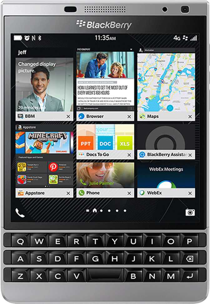 BlackBerry Q10 vs BlackBerry Passport Silver Edition