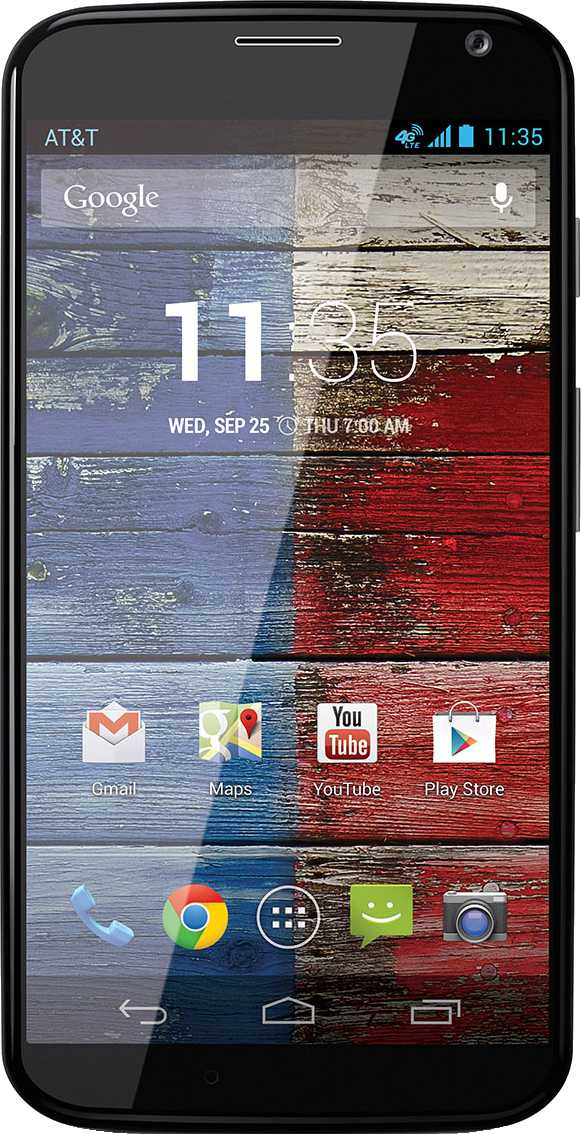 Motorola Moto X vs BlackBerry Key2