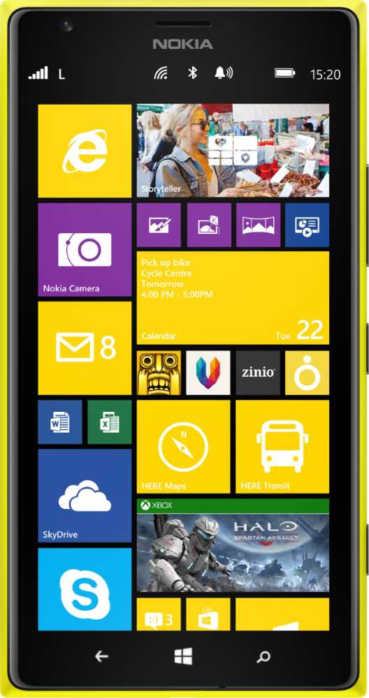 Nokia Lumia 830 vs Nokia Lumia 1520
