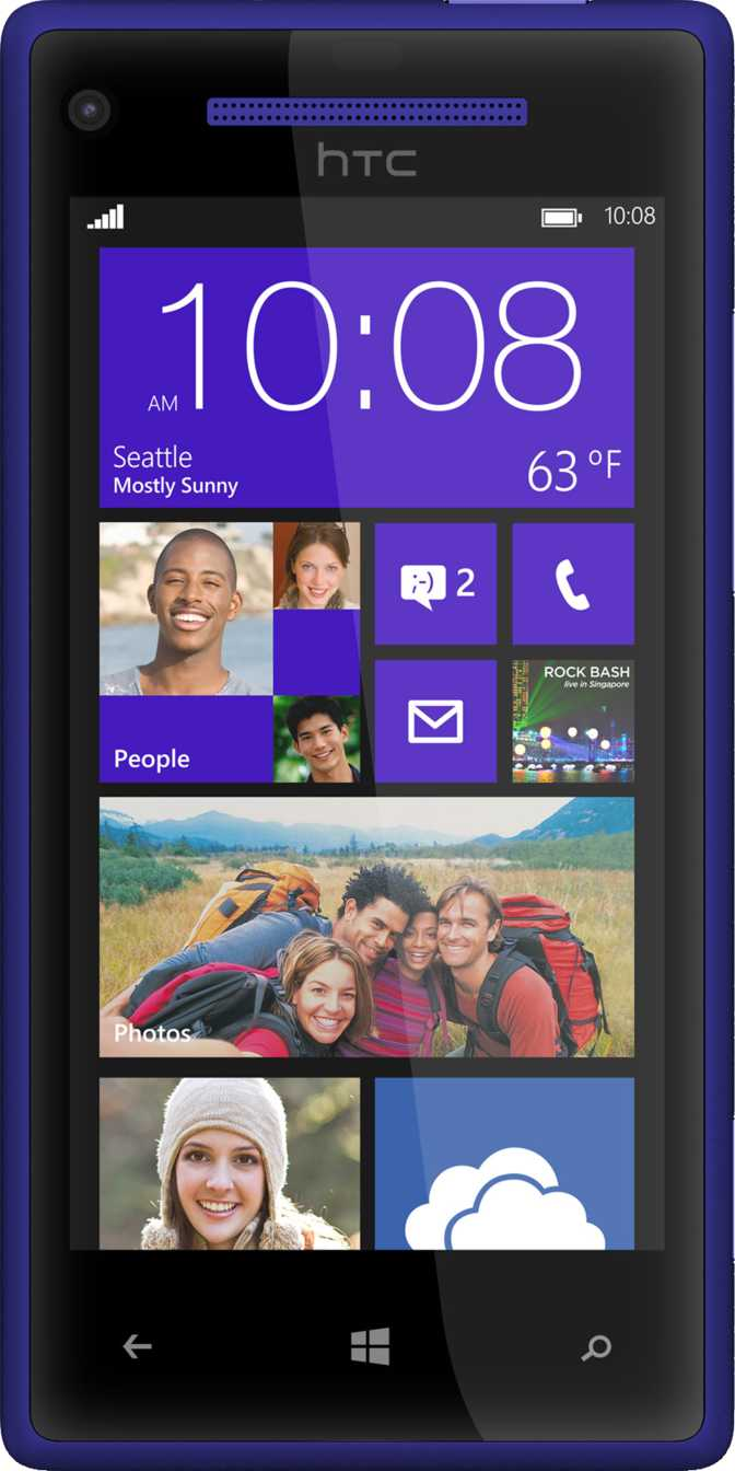 BlackBerry Z30 vs HTC Windows Phone 8X