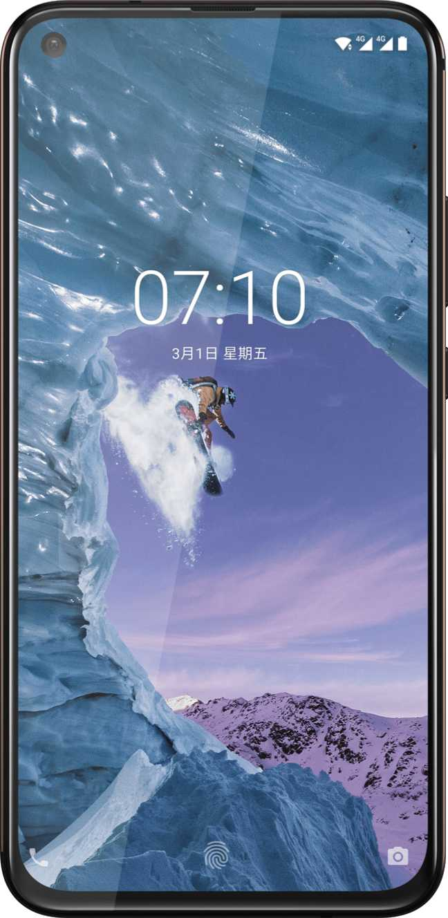 Samsung Galaxy S9 Plus vs Nokia X71