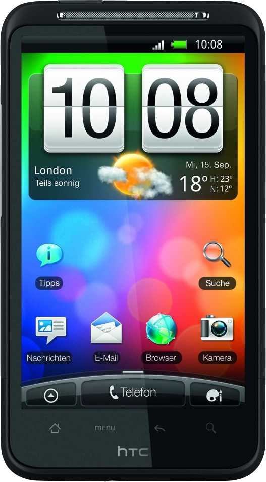 Samsung Z1 vs HTC Desire HD