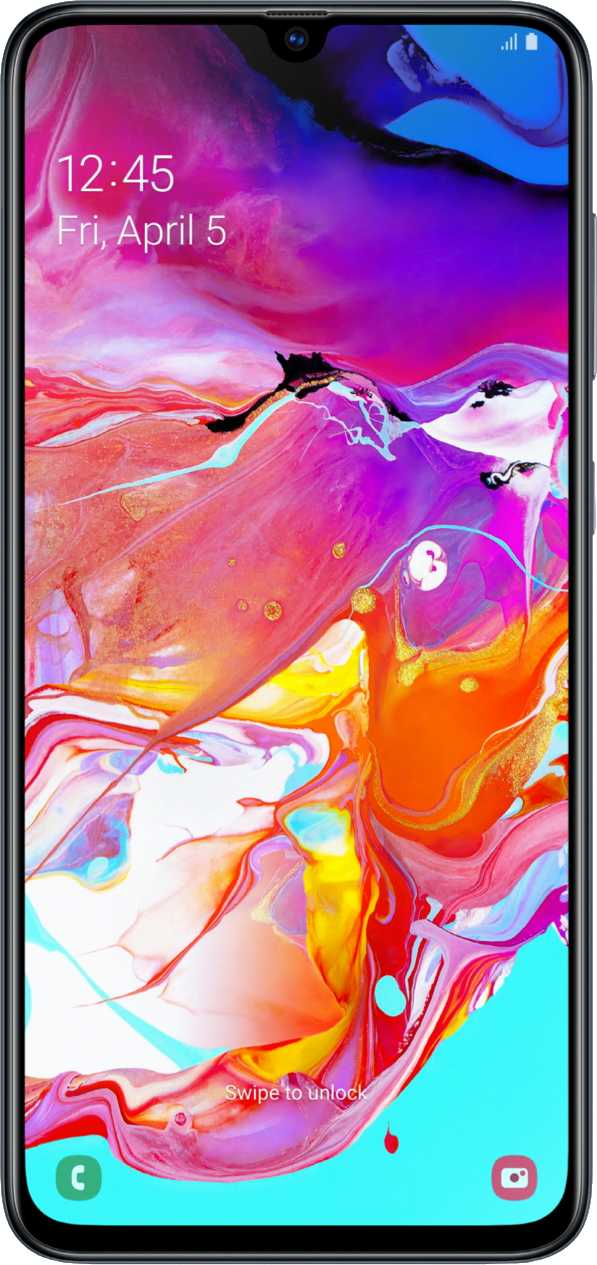 Samsung Galaxy S10 vs Samsung Galaxy A70