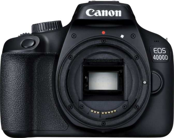 Canon EOS Rebel SL2 + Canon EF-S 18-55mm f/4-5.6 IS STM vs Canon EOS 4000D