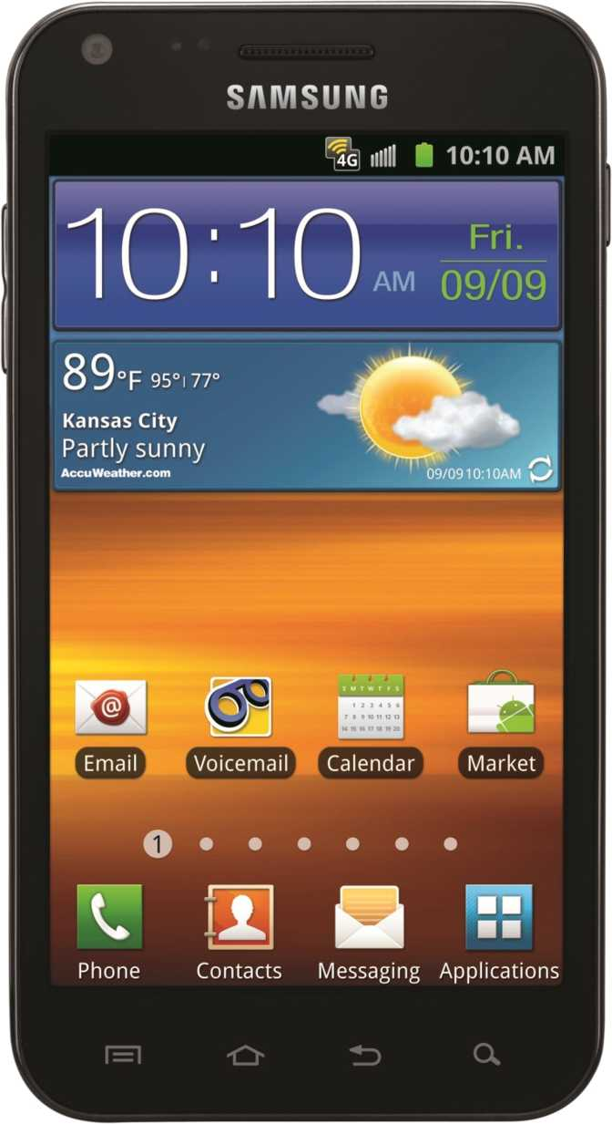Samsung Galaxy S II Epic 4G Touch Sprint
