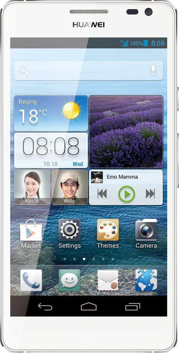 LG Optimus 3D P920 vs Huawei Ascend D2
