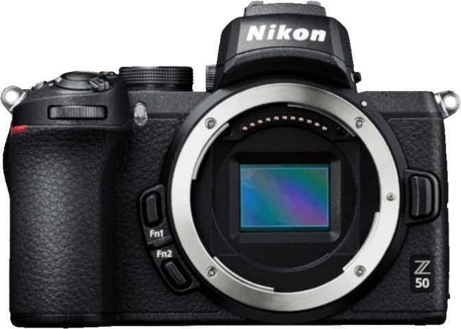 Nikon Z50 vs Canon EOS M50 Mark II