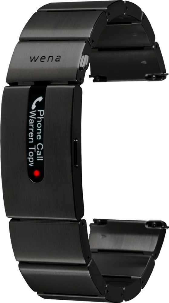 Huawei TalkBand B5 vs Sony Wena Wrist Pro