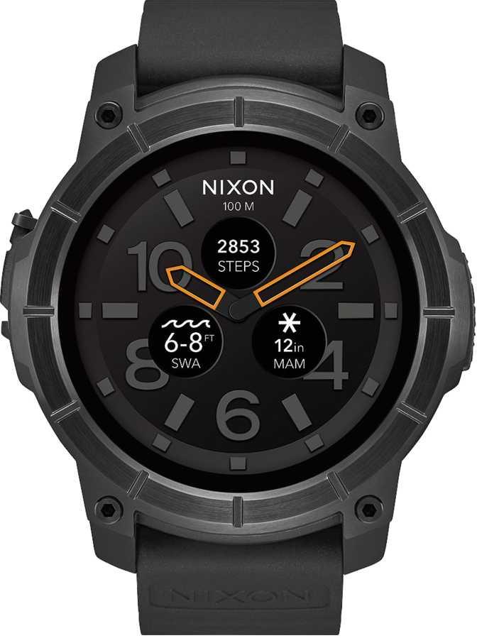Apple Watch Series 4 vs Nixon Mission
