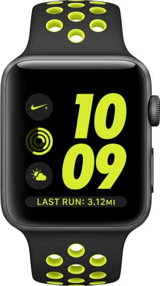 Samsung Gear S3 Frontier LTE vs Apple Watch Nike+
