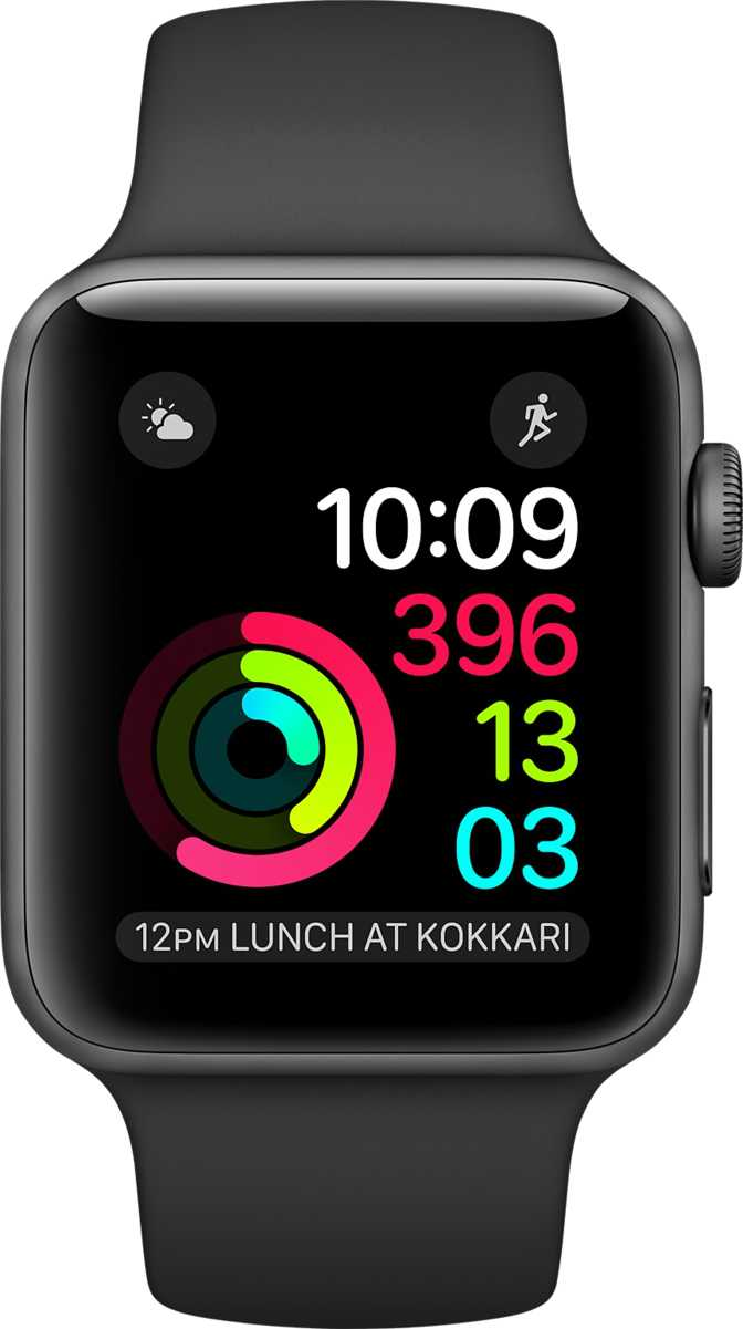 Amazfit GTS vs Apple Watch Series 2