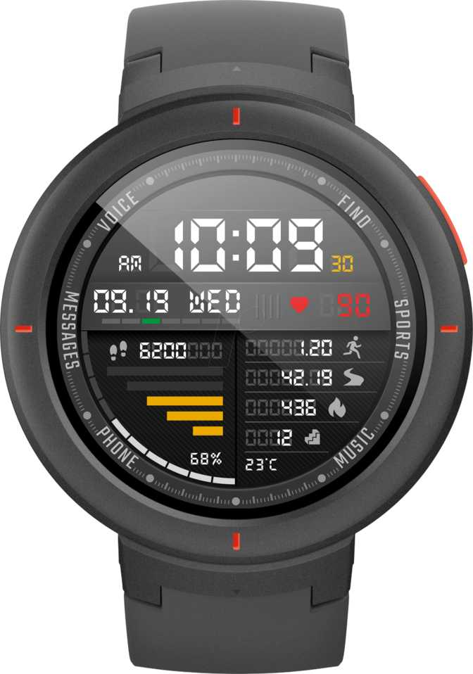 Amazfit Stratos Plus vs Amazfit Verge
