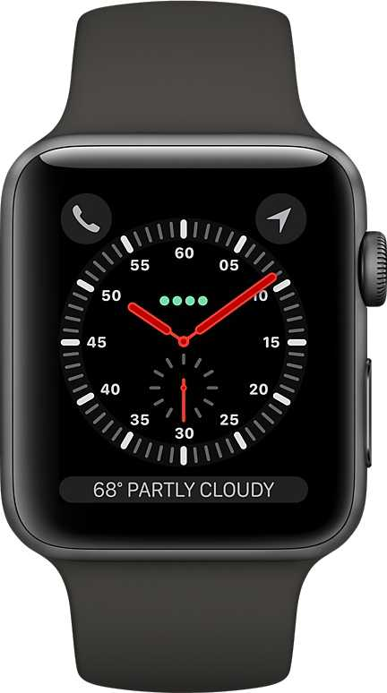 Apple Watch Series 3 vs Apple Watch Series 5 GPS Aluminium Case 44mm
