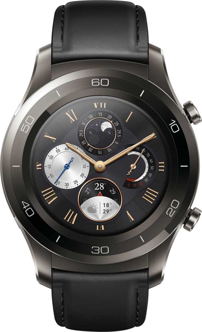 Huawei Watch 2 (2018) vs Huawei Watch GT Elegant Edition