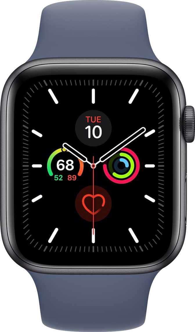 Huawei Watch Fit vs Apple Watch Series 5 GPS Aluminium Case 44mm