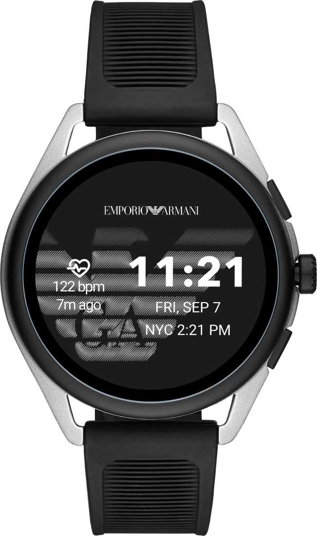Emporio Armani Smartwatch 3 vs Fossil Q The Carlyle HR Gen 5