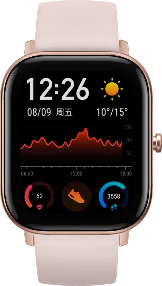 Samsung Galaxy Watch Active2 Aluminium 44mm vs Amazfit GTS
