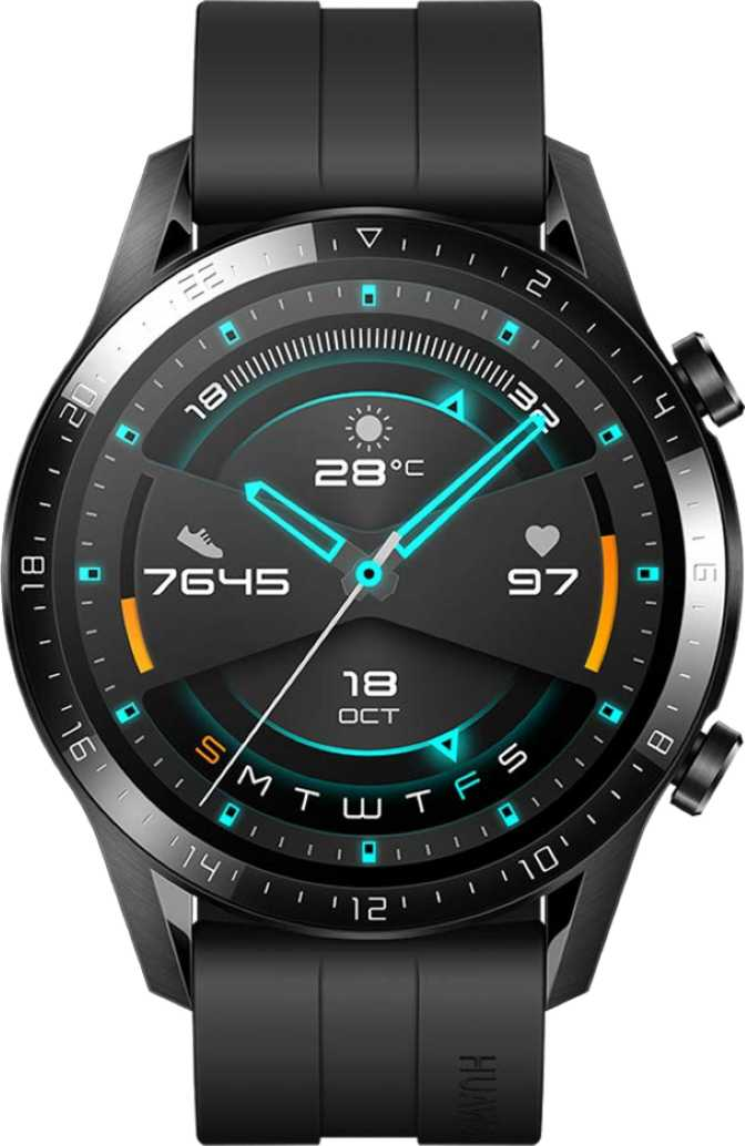 Samsung Galaxy Watch Active2 Aluminium 44mm vs Huawei Watch GT 2 46mm
