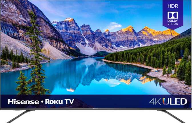 "Hisense Roku R8F ULED 65"" vs Sony 65"" 4K Ultra HD TV"