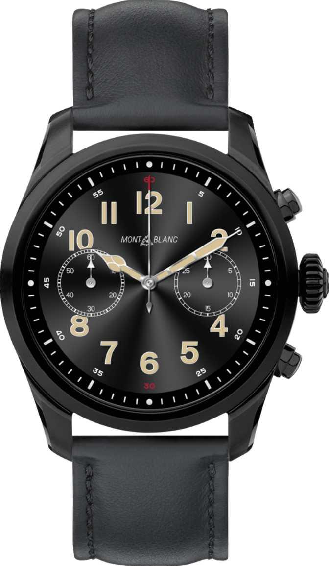 Samsung Galaxy Watch Active2 Stainless Steel 44mm vs Montblanc Summit 2