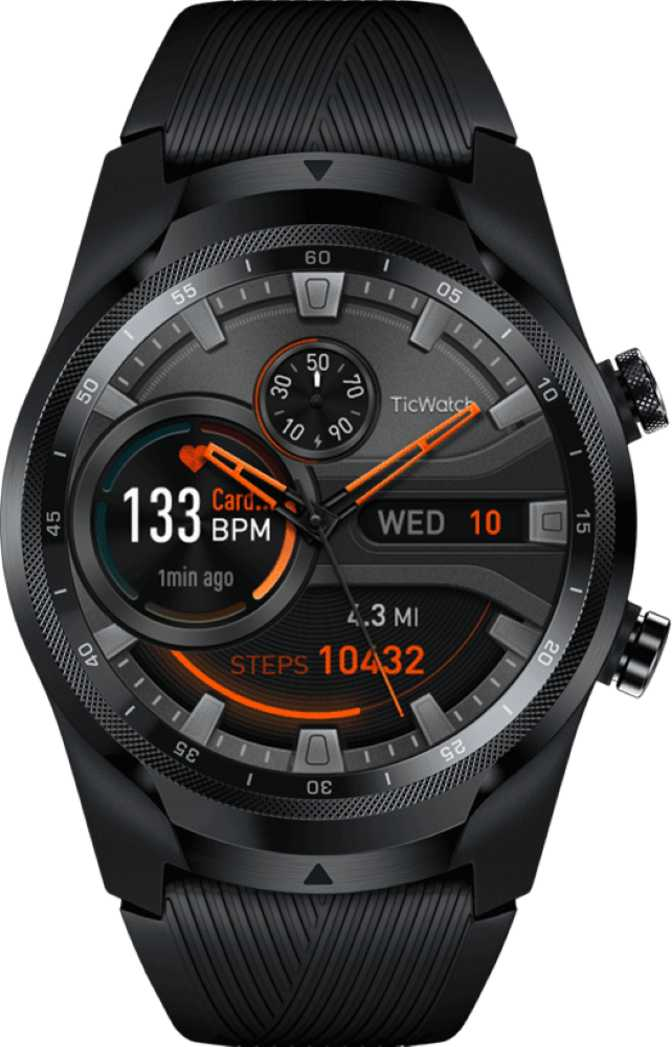 Mobvoi TicWatch S2 vs Huawei Watch GT 2 46mm