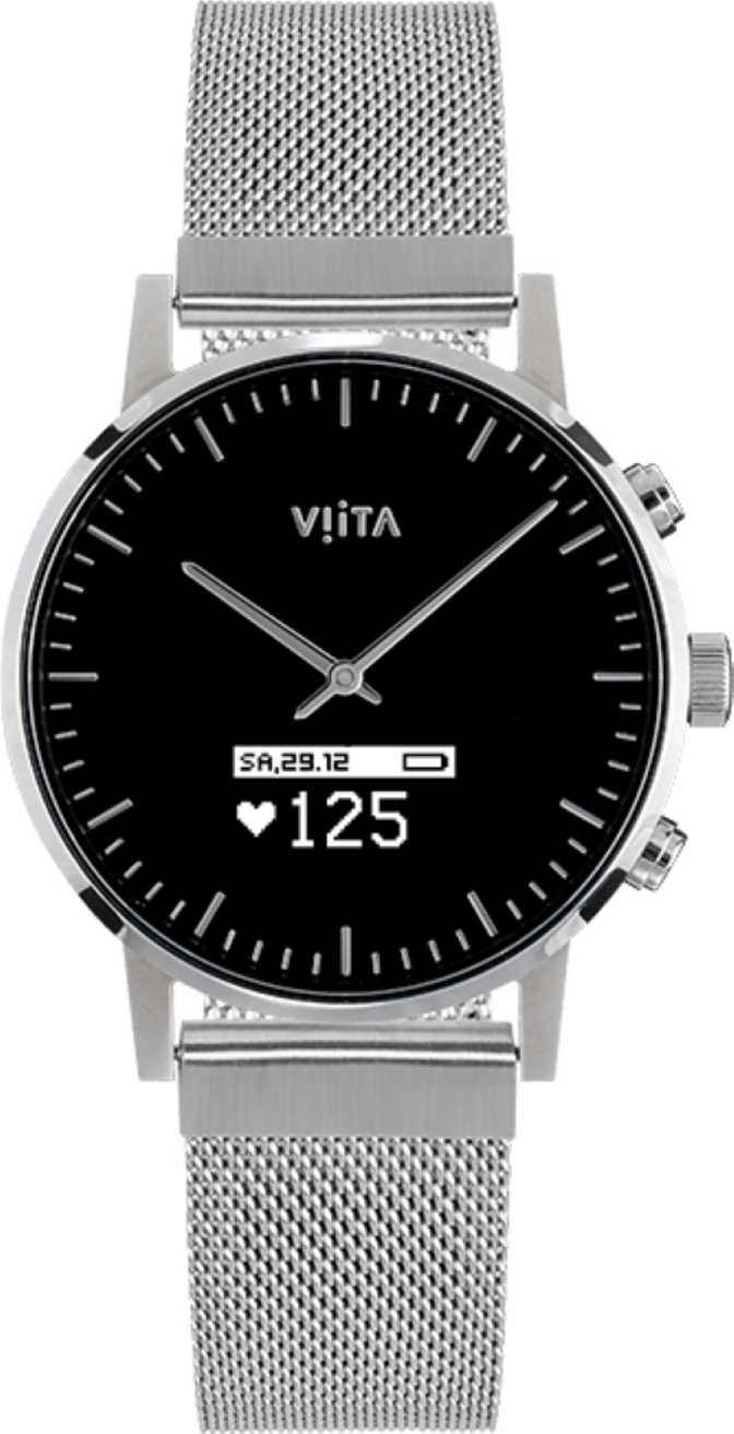 Viita Hybrid HRV Classic vs Samsung Galaxy Watch Active2 Stainless Steel 44mm