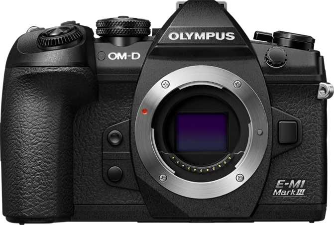 Olympus OM-D E-M1 Mark III vs Canon EOS Rebel SL3