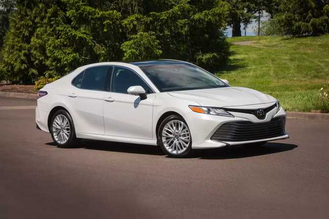 Honda Accord Sedan (2018) vs Toyota Camry (2018)