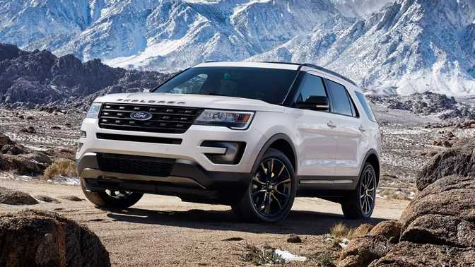 Ford Edge (2017) vs Ford Explorer (2017)