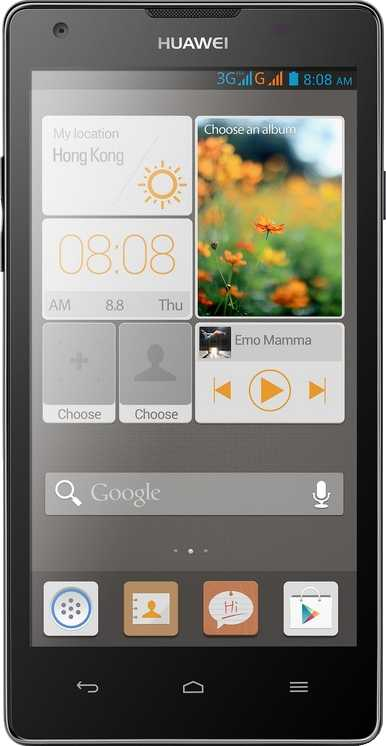 HTC Desire vs Huawei Ascend G700