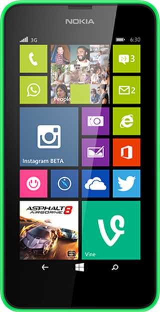 Nokia Lumia 625 vs Nokia Lumia 630