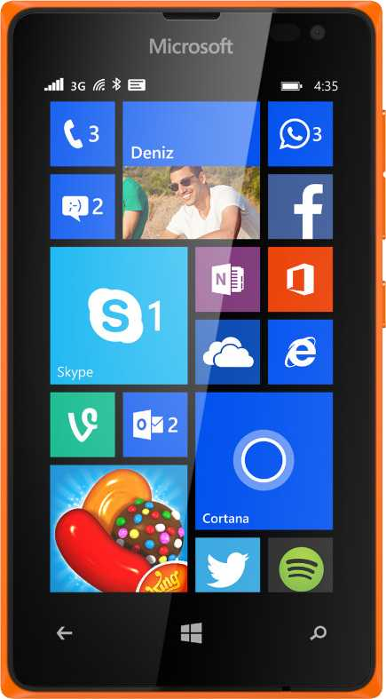 Microsoft Lumia 532 vs LG Optimus Vu P895