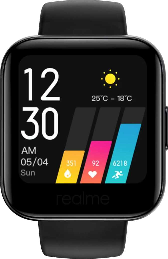 Haylou Smart Watch Solar LS05 vs Realme Watch
